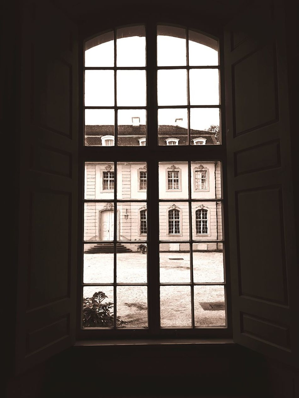 Schloss Wilhelmstal Window Windows Historical Building Architecture Historical Kassel Schloss Bw_collection Black & White Blackandwhite Photography