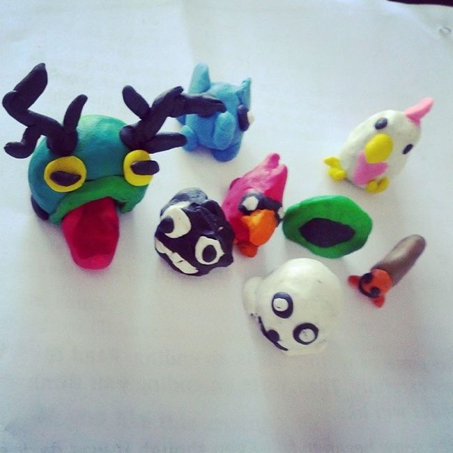 More crazy Plasticine Castlecrashers