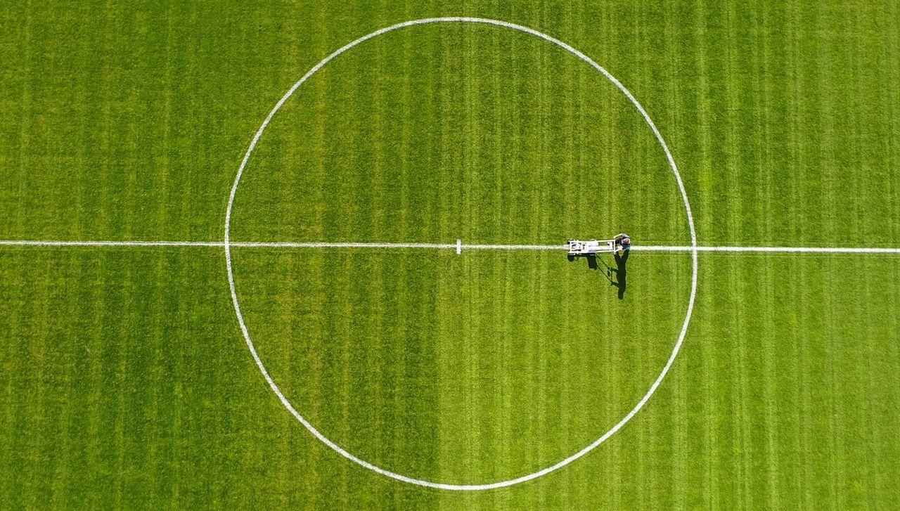 Drone Shot Sport Soccer Soccer Field Week On Eyeem Drone  Dronephotography Art Is Everywhere