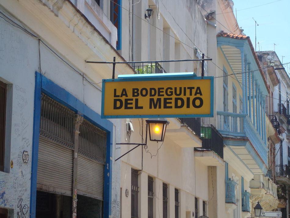 Bodeguita Del Medio Cuba Famous Bar Famous Landmarks Famous Place Havana Havana, Cuba Havanna, Cuba Landmark