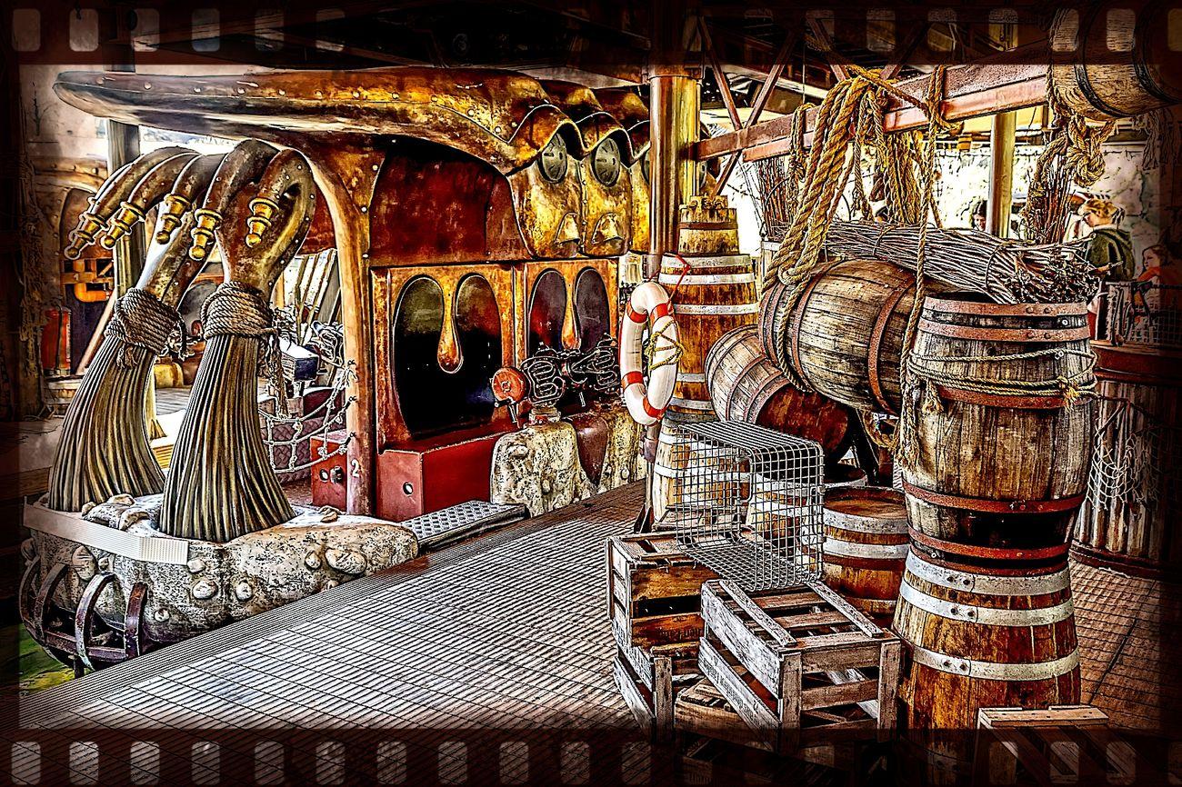 Amusementpark Backgrounds Fässer HDRphoto Illuminated No People Phantasialand Pretpark Streetphotography