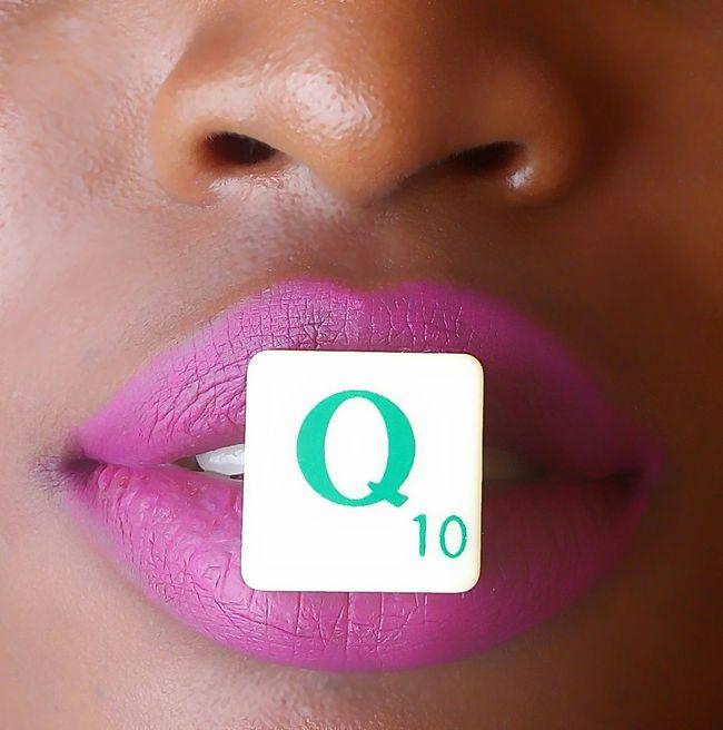 Quarrelet.. Small Square i love Scrabble 🙌 Model Beautiful Creative Art Pink Lips