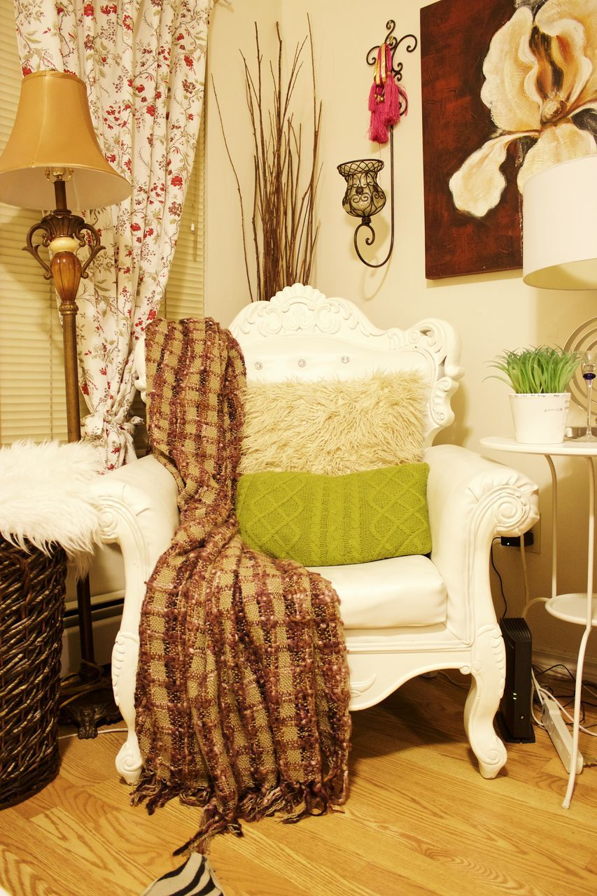indoors, home interior, chair, home showcase interior, table, armchair, pillow, no people, seat, day