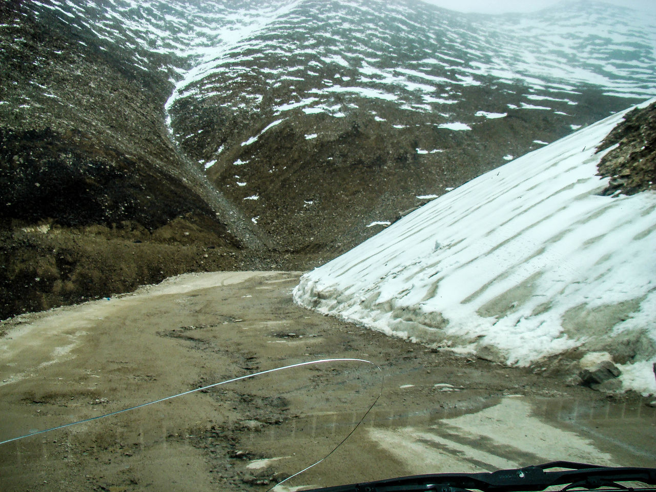 water, day, nature, cold temperature, snow, no people, outdoors, winter, road, sea, beach