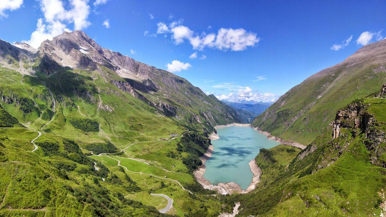 Beauty In Nature Idyllic Kaprun, Austria Landscape Mountain Mountain Range Scenics Stausee Valley Wasserfallboden Alps Alpen Fresh On Eyeem