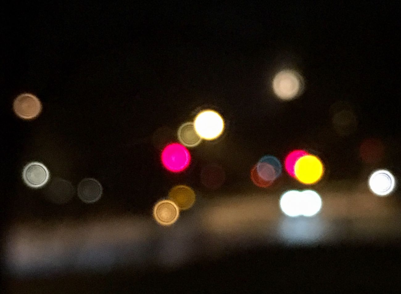 Blurry vision Illuminated Defocused Streetphotography From My Point Of View Photograph Night Lights And Shadows