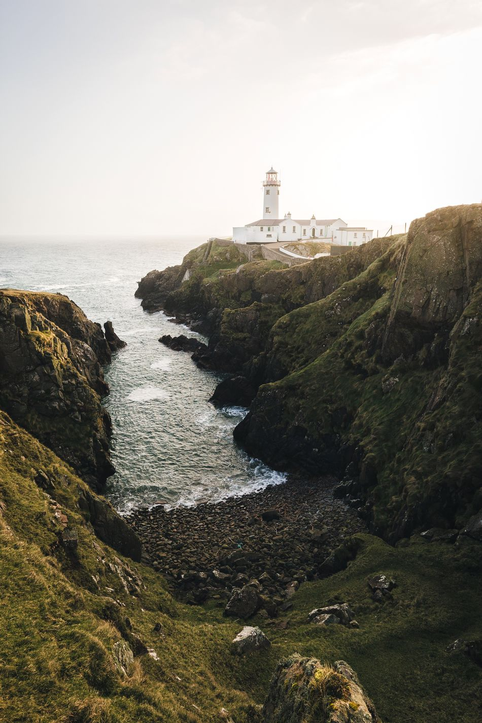 Mornings near the lighthouse. Ireland Lighthouse Sky Sea Outdoors Building Exterior Day Nature Horizon Over Water No People