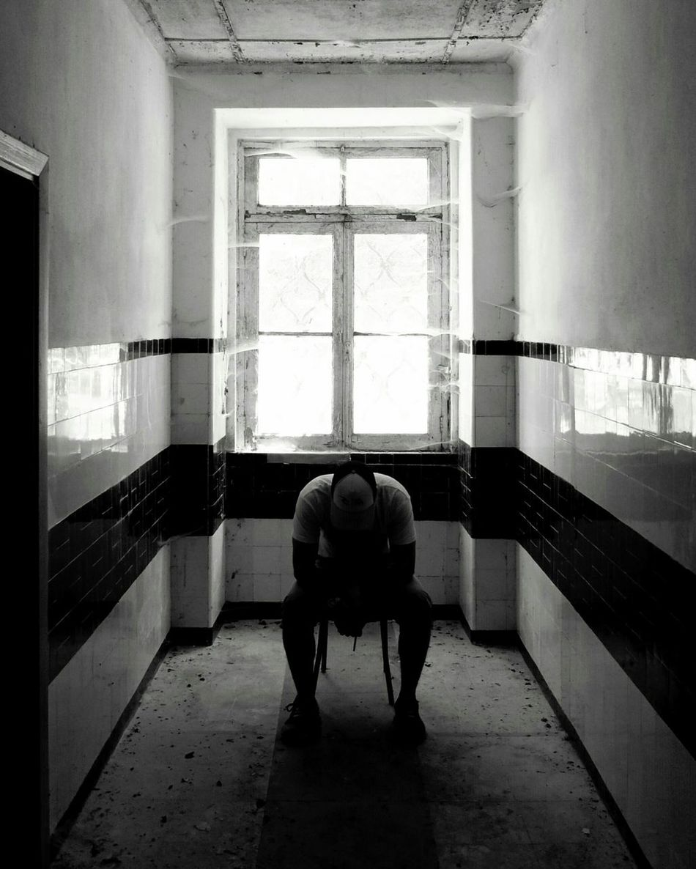 Window Depression - Sadness Adults Only Architecture One Person Bnw_magazine Bnw_of_our_world Bnw_society Bnw_planet EyeEm Best Shots - Landscape EyeEmBestPics EyeEm Best Shots Urban Geometry EyeEm Gallery EyeEm Best Edits Urban Life Urban Scene Decadent Lifestyle Bnw_collection Bnw_captures Ruins Sadboy  Urban Escape Urban Sadness