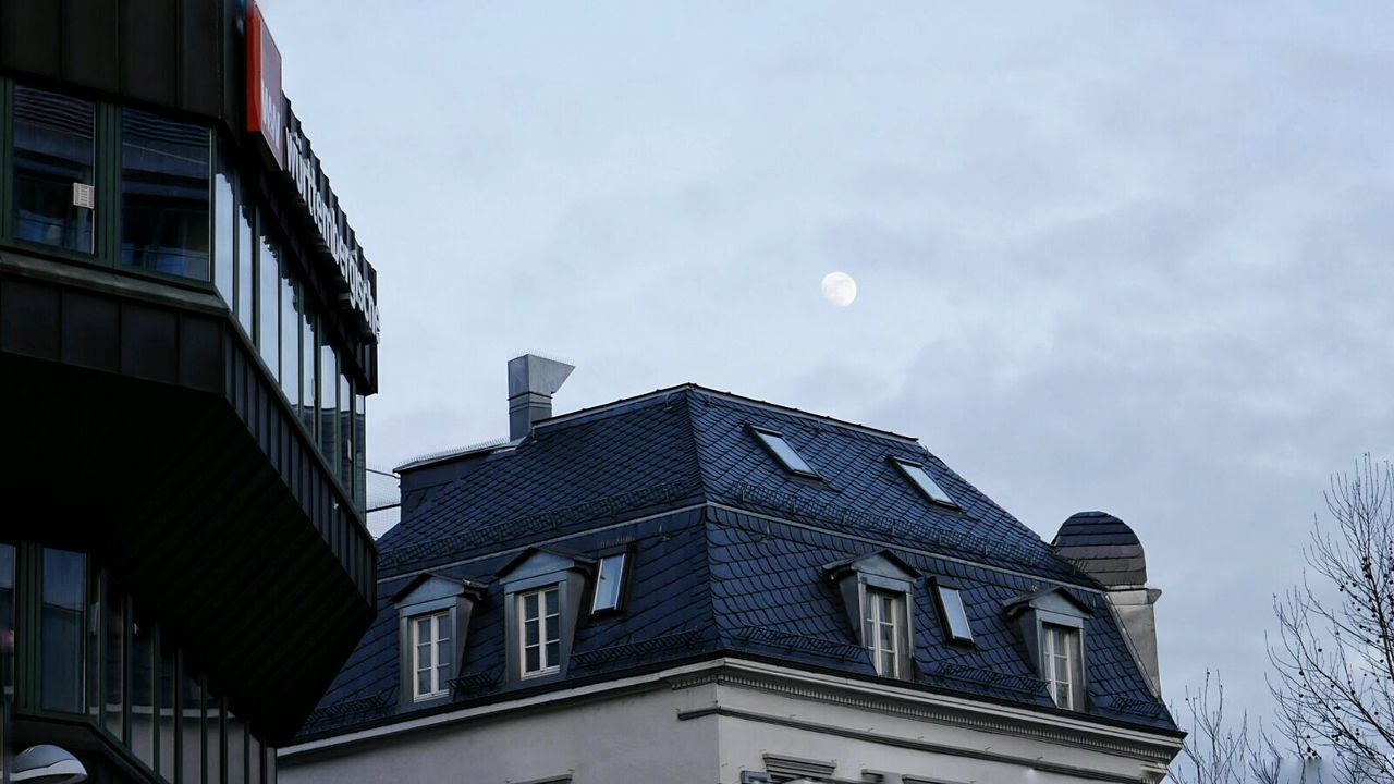 Built Structure Architecture Sky Window Building Exterior No People Outdoors Day City Moon Cityscape GetbetterwithAlex Stuttgart Stuttgartcity Streetphotography Building Story Build Building Architecture Close-up Buildings & Sky Streetlamp Cloud - Sky Light Moonlight Welcome To Black Long Goodbye EyeEmNewHere