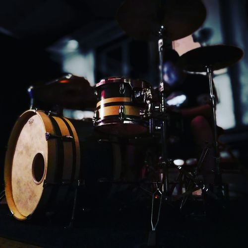 Indoors  Arts Culture And Entertainment Drums Drumming Drum Kit Drumkit Music Musician Musical Instrument Percussion