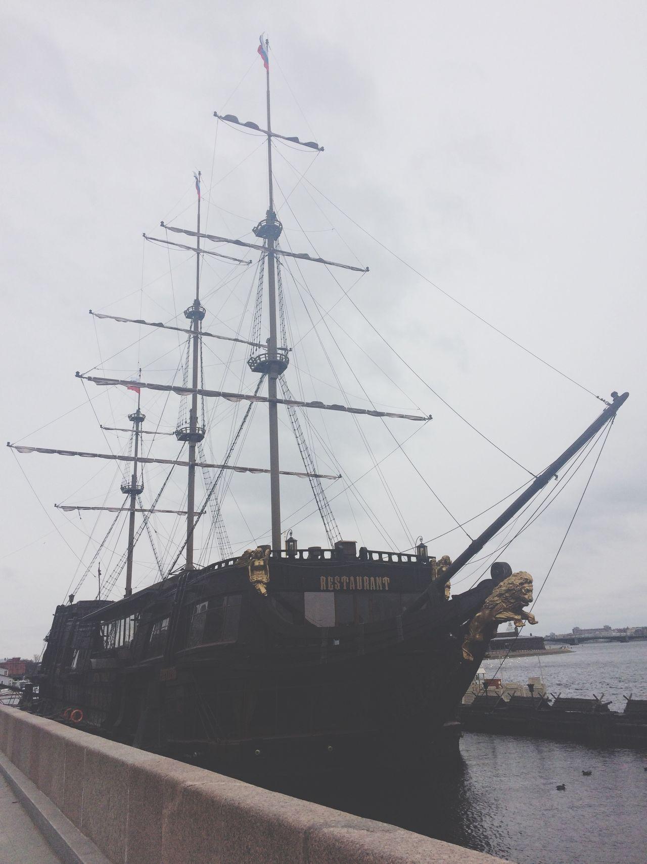 ресторан  Restaurant Saint Petersburg Saint-Petersburg Spb Ship корабль