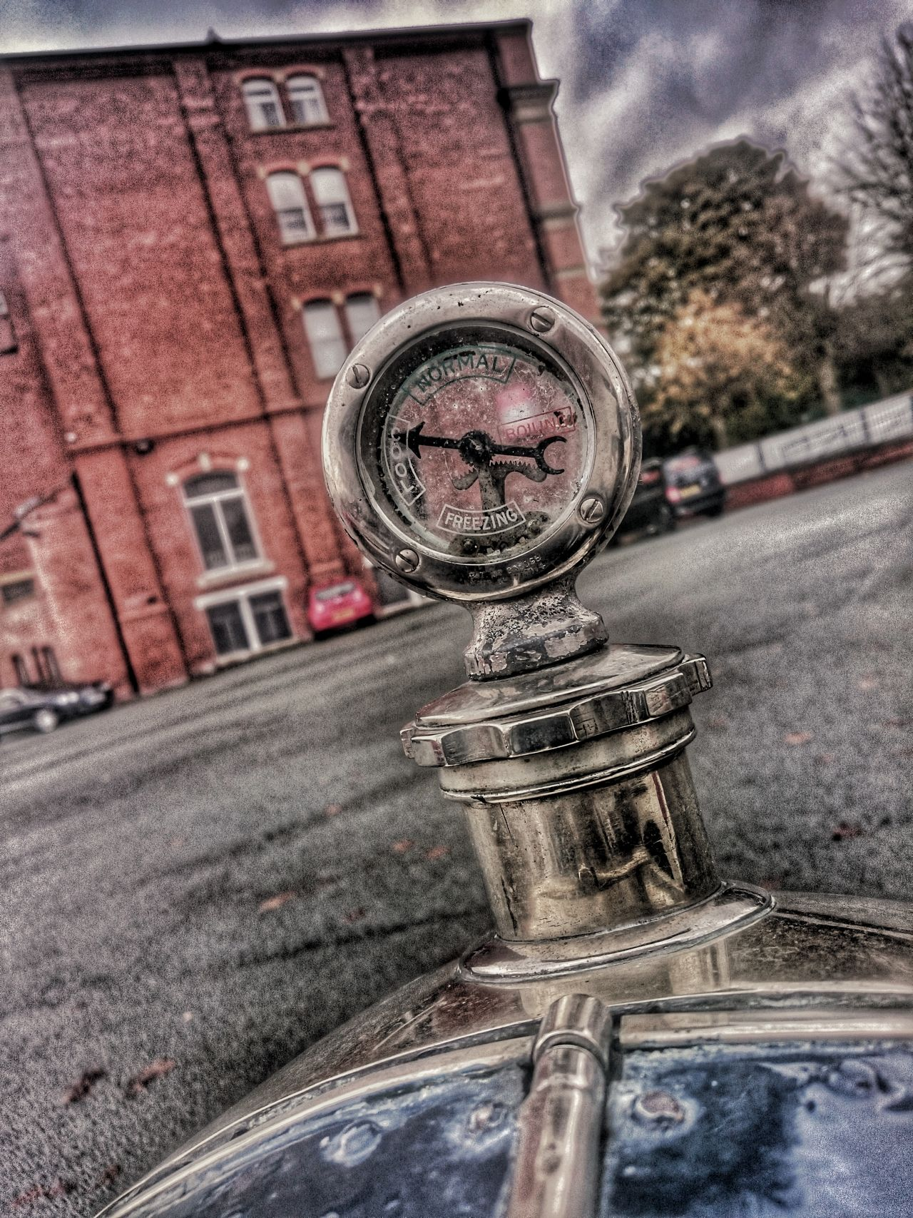 Car Transportation Building Exterior The Drive Guage Temperaturegauge Temperature Gauge Radiatorporn Classic Elegance Meter_gauge Classic Cars Car Parts Classic Car Photography British Made Brass Chrome Times Past Street Hdr Edit The Drive. The Drive