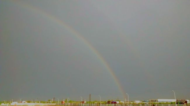 Double rainbow !! This happend when i was sitting with a lovely girl and now i m deeply and madly in love with her . love u my angel Check This Out Hi! Taking Photos