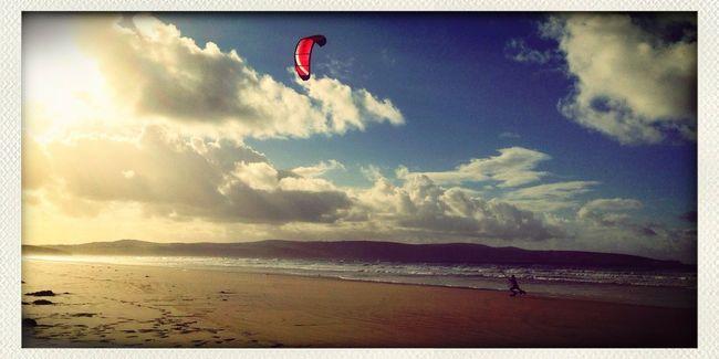 We got a bigger kite