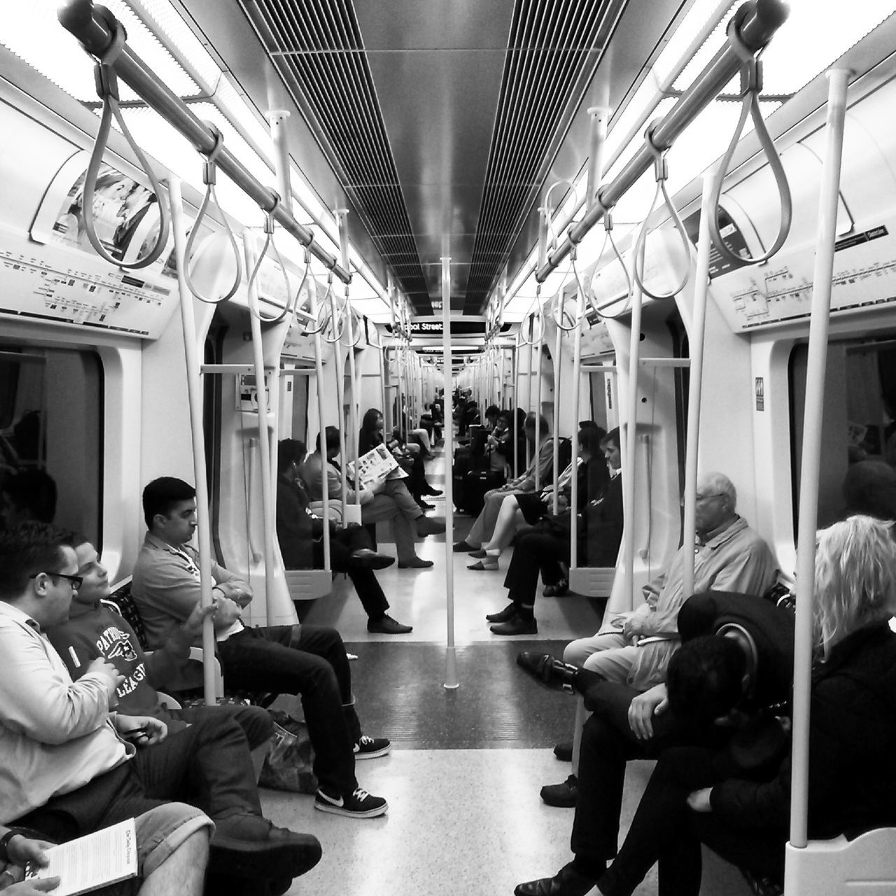 Indoors  Men People Tube LondonTransport LondonTube Blackandwhite Black & White Tranportation London Italianphotographer Transportation EyeEm Best Shots EyEmNewHere EyeEmNewHere