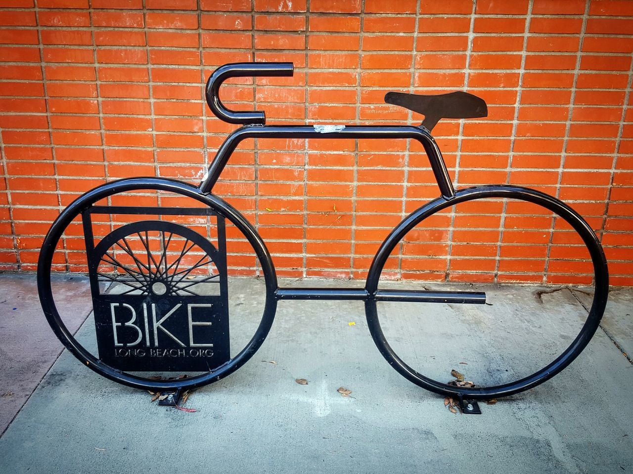 Bike On Perspective Bicycle Fine Art Street Art Abstract Concrete Jungle Bike Sidewalk Brick Wall Eyeemphoto EyeEm From My Point Of View Eye4photography  Photography Is My Therapy Outdoors ForTheLoveOfPhotography Pivotal Ideas