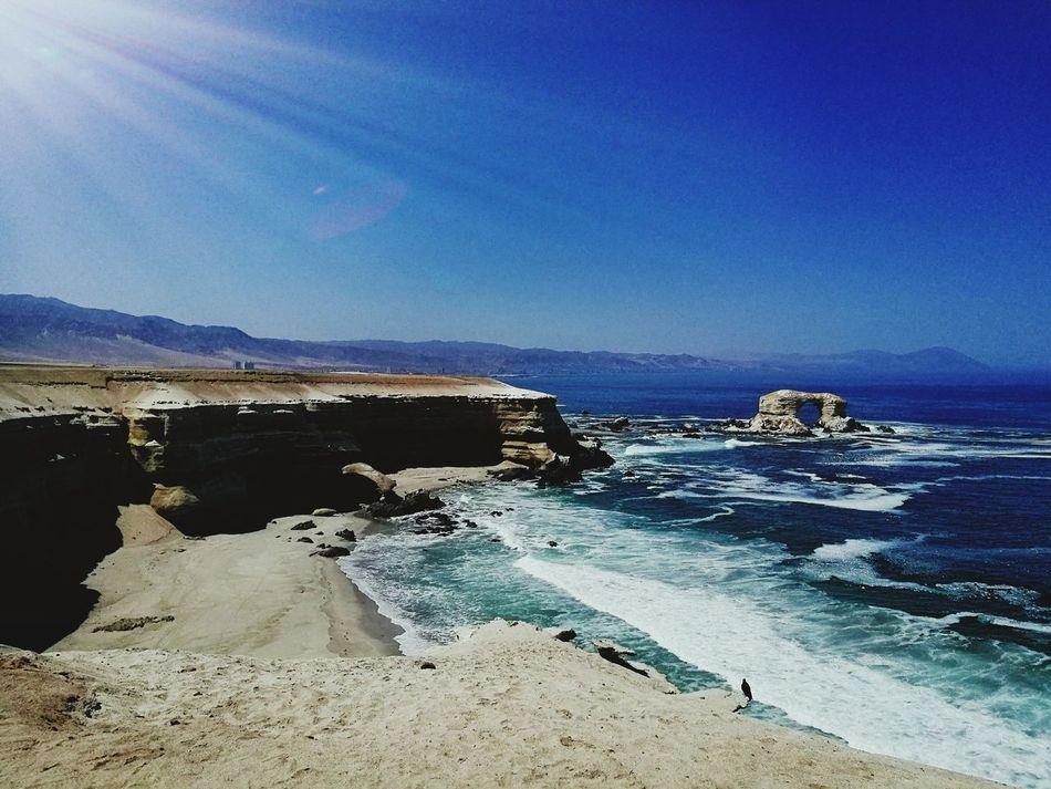 Antofagasta Sea No People Day Sky Water Nature LaPortada Naturalmonument Chile