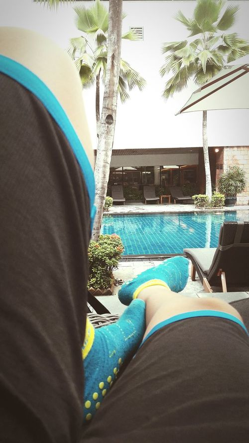Beautifully Organized Legs Swimming Pool No People Tree Bush Human Body Part Human Leg Socks Pool Poolside Pool Time Poolday Pool Time :) Pool Water No People, Outdoors Outdoor Photography Outdoor Pictures Swimming Pool
