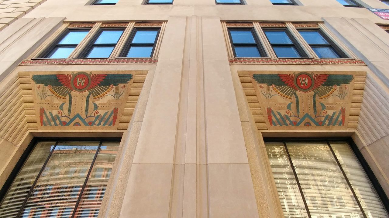 Mosaic art in downtown Washington DC. Low Angle View Built Structure Architecture Mosaic Tiles History Building Exterior No People EyeEm Travel Photography EyeEm Best Shots Looking Up United States Washington, D. C. Building