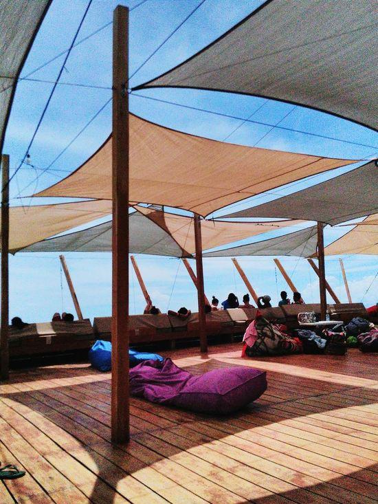 The floating bar in Lakawon Island, Philippines Philippines Bacolod The Great Outdoors - 2017 EyeEm Awards ph Lakawon Island Sea Beach Built Structure Sky The Great Outdoors - 2017 EyeEm Awards