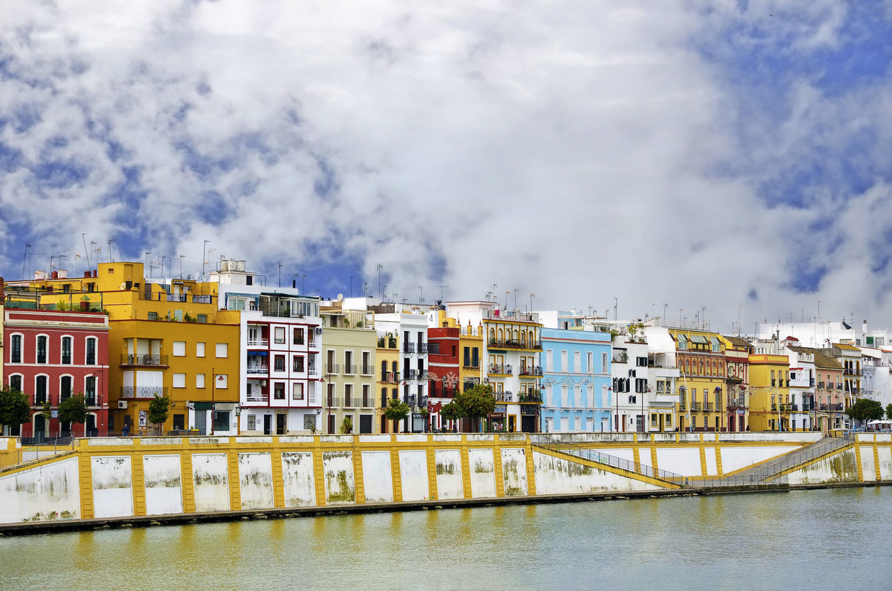 Andalucía Andalusia Architecture Betis Building Exterior Built Structure City City Day Eye4photography  Guadalquivir Home House Nature No People Outdoors River Sevilla Seville Sky SPAIN Spain♥ Spaın Street Water