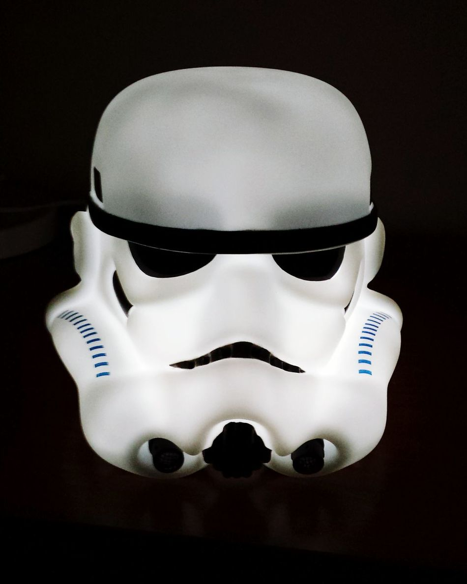 Yes, it's a lamp Lamp Stormtrooper Bdaypresent Starwars