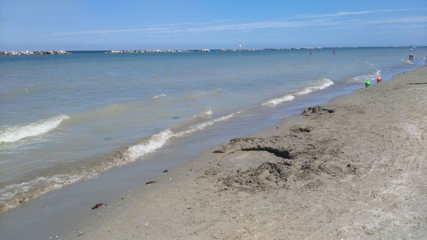 Beach Sea Water Sunny Day Nature Outdoors Vacations Sky Summer Ciao. ✌ My Photography. ❤ Orginal Good Day