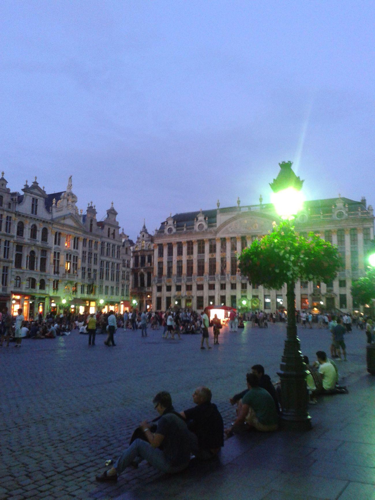 Brussels In Brussels Lagrandplace Bruxelles