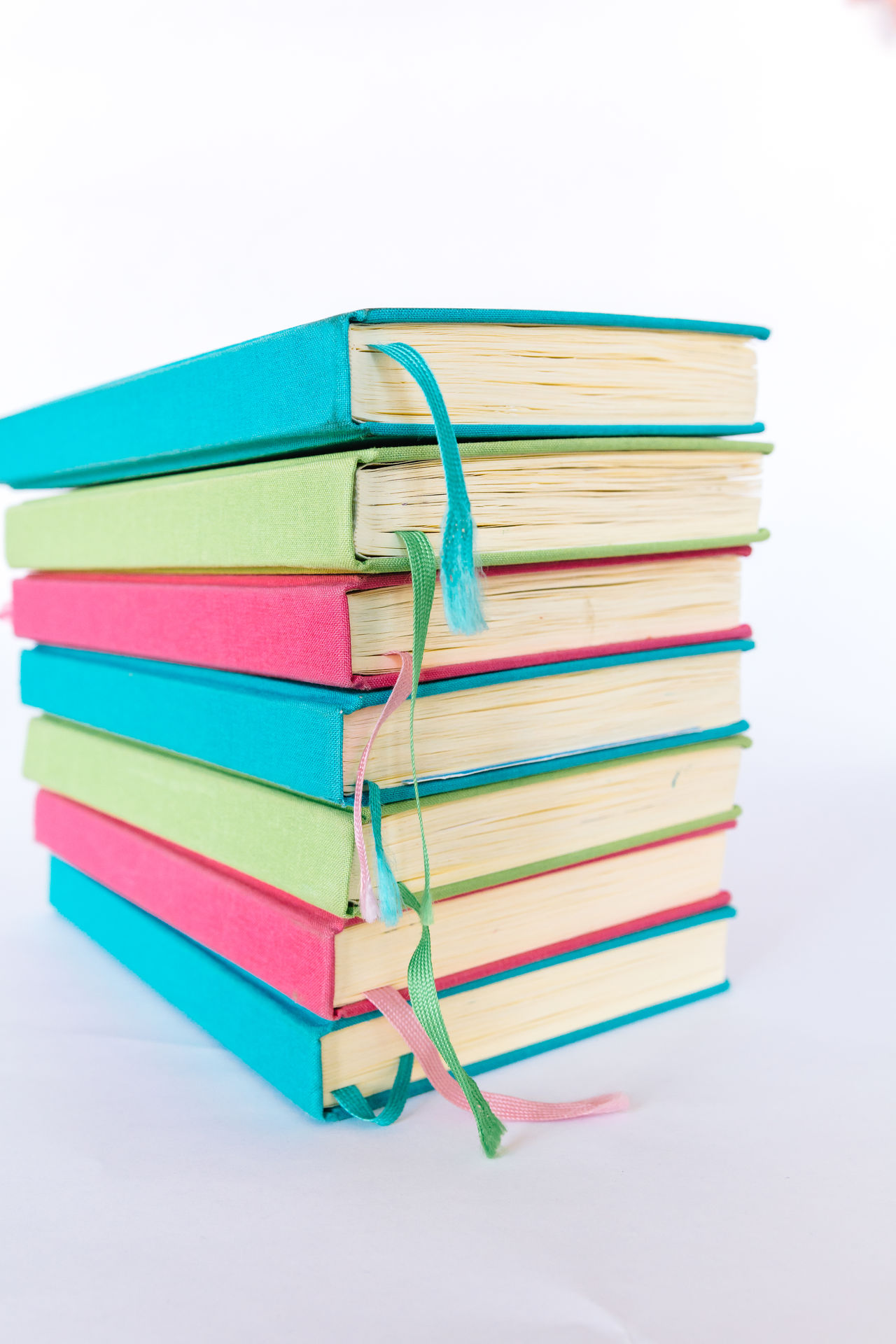 Colorful Books Blue Books Colorful Colors Cyan Education Educational Green Learning LearningEveryday Multi Colored No People Pink Reading Reading Books Reading Time Stack Studio Shot Study Hard Study Time Studying White Background