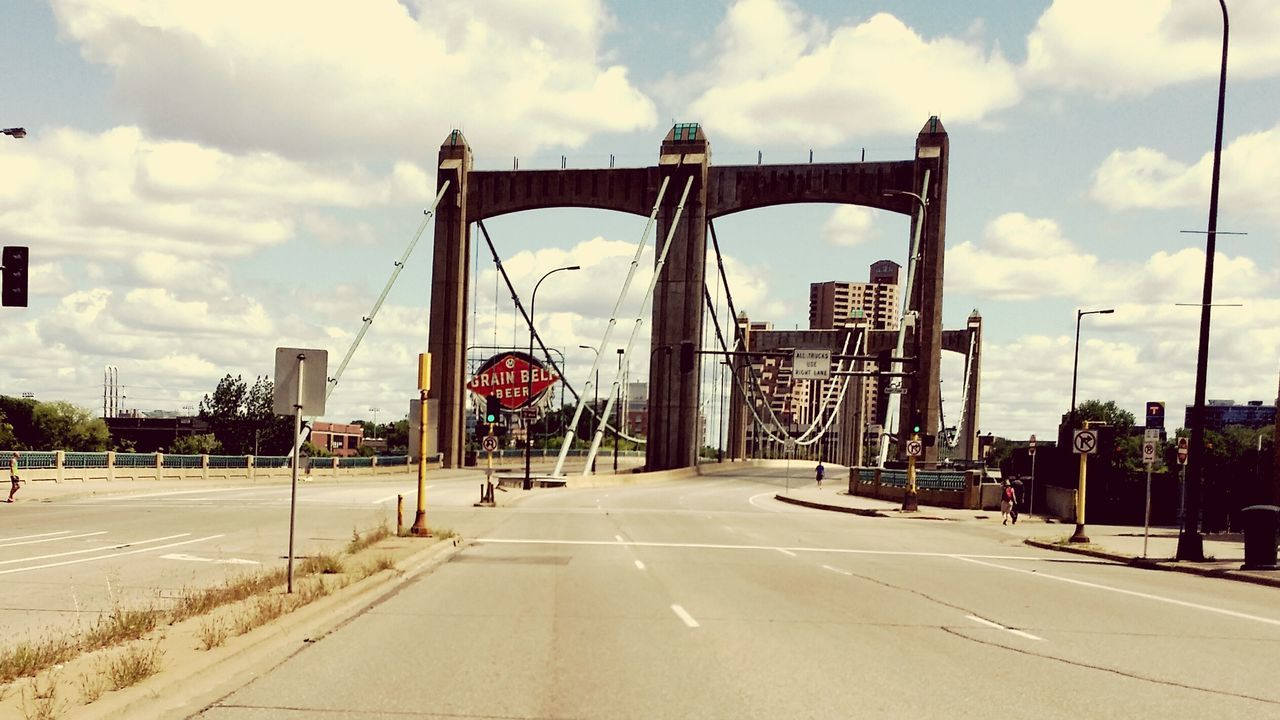 Downtown Minneapolis Minnesota. Grainbelt