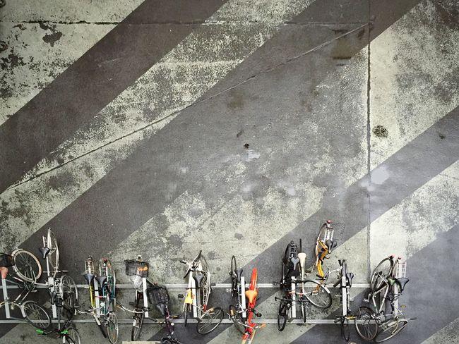 Bikes in the rain Open Edit Bikes Office