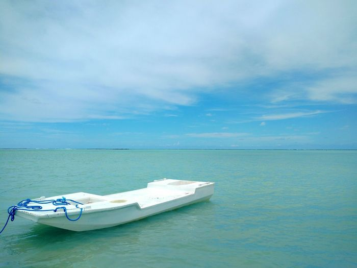 Beach Nautical Vessel Water Sea Transportation Cloud - Sky Tranquility No People Horizon Over Water Nature Blue Landscape Sky Scenics Beauty Outdoors Day Multi Colored Vacations Beauty In Nature São José Da Coroa Grande  Maragogi - AL Brazil Alagoas EyeEmNewHere Be. Ready.