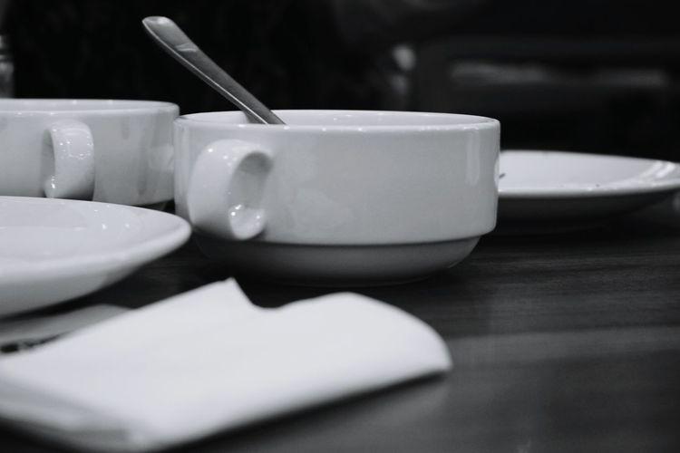 Glass Porcelin Spoon Silver  Tissue Plate Indoor Classical Mushromm Sweetness Malaysia Follow4follow Amazing Bokeh Subject Woodtable Local Food Fastfood Mug EyeEmNewHere