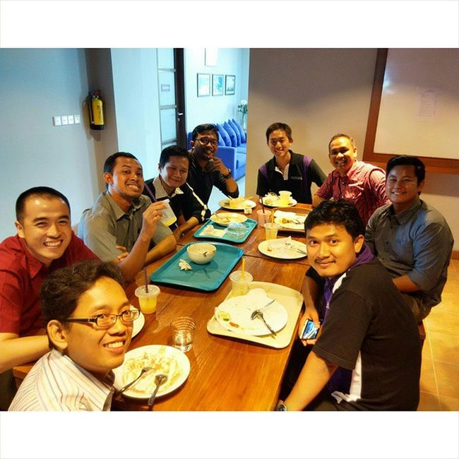 Birthday lunch with the office team @mitrais Termsandconditionsapplied