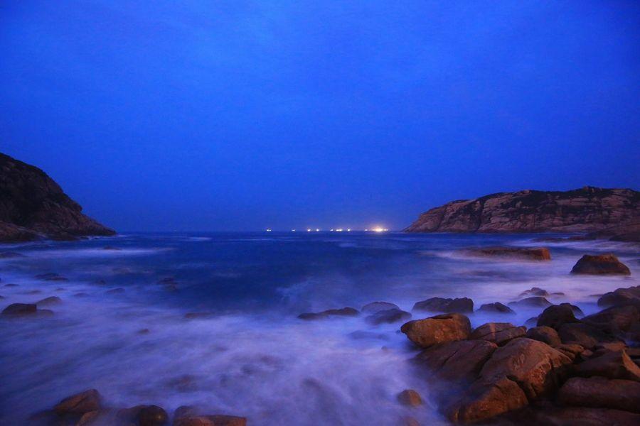 波瀾滾滾 - 石澳 Sea Nature Beauty In Nature Rock - Object Scenics Blue Horizon Over Water Tranquil Scene Water Clear Sky Sky No People Tranquility Outdoors Wave Beach Motion Day Waves, Ocean, Nature Waves Crashing On Rocks Rocks And Water Waves Crashing Hong Kong