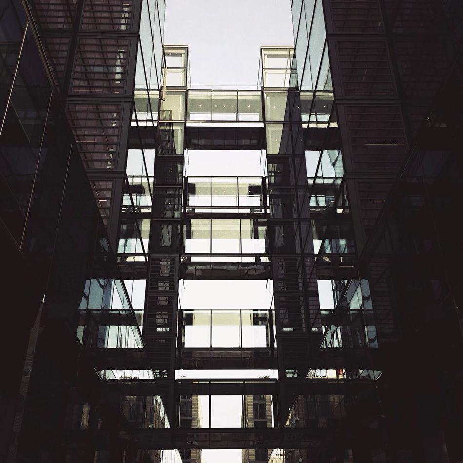 Elevated walkways Geometric Shapes Urban Geometry Urban Landscape Architecture Cityscapes City Washington, D. C. Washington DC Hipstamatic Urban Exploration
