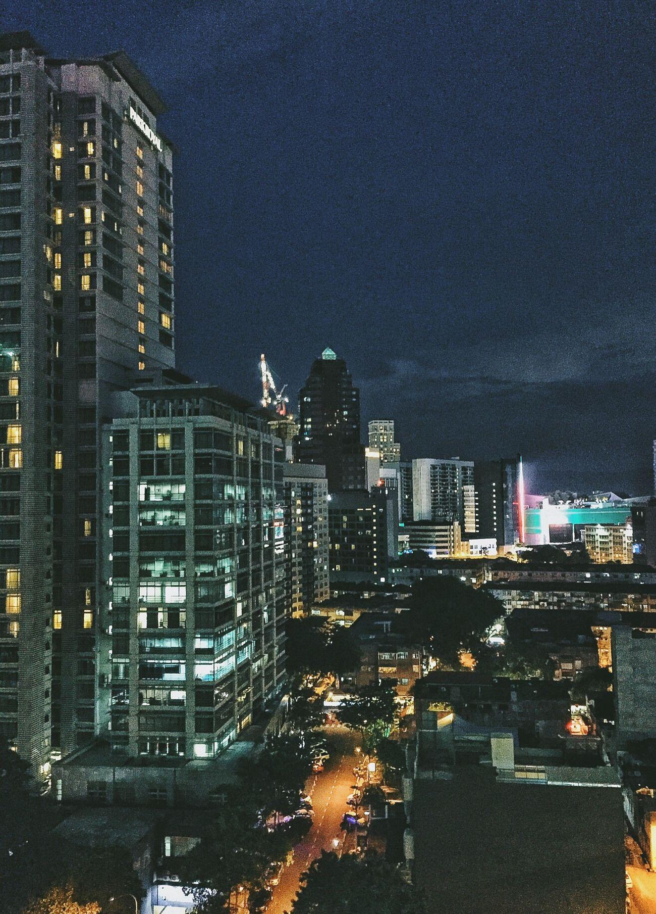 Garden city of lights Klcity Kuala Lumpur Nightphotography