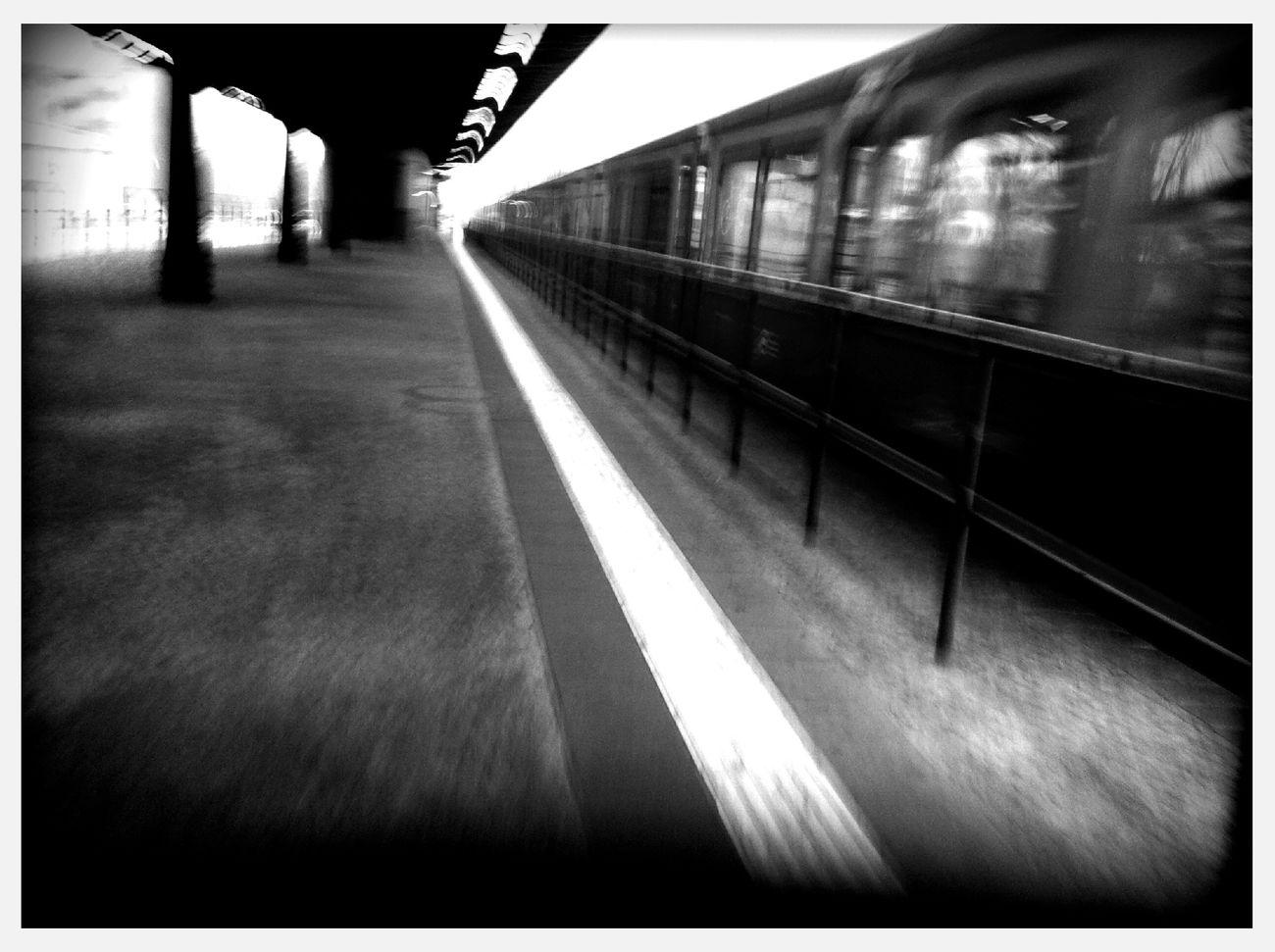 farewell train at S+U Wittenau Farewell Train