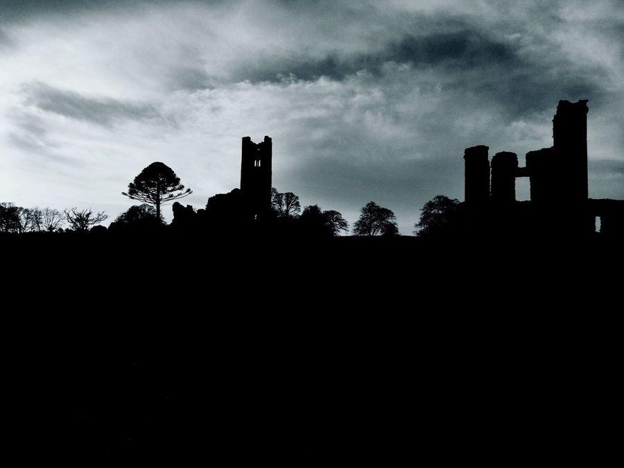 Ruins Hill Of Slane Ireland