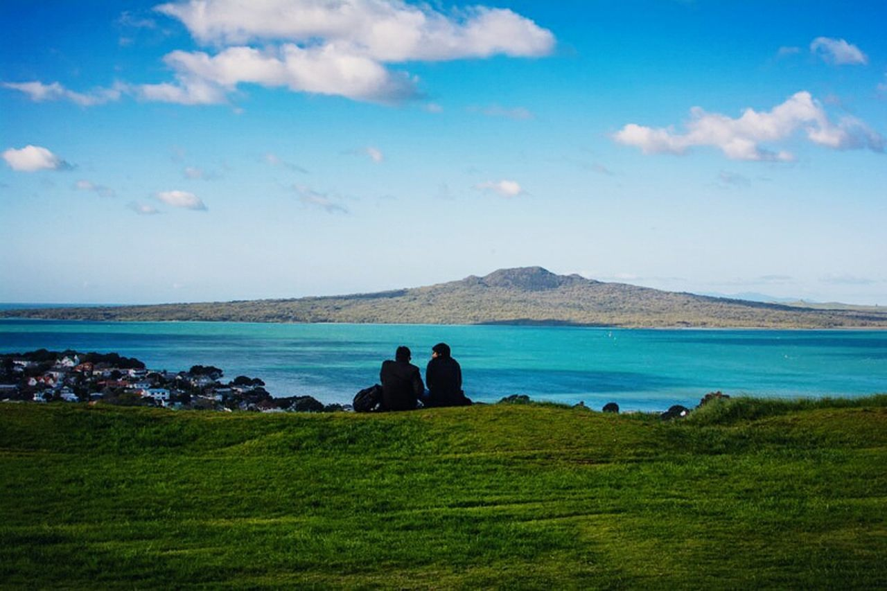 Newzealand Devonport Volcanic  Volcanoes Volcanic Crater Rangitoto Auckland Protecting Where We Play Landscapes With WhiteWall