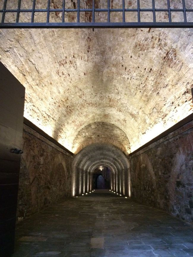 Beautifully Organized Architecture ♠️quinntets♥️ Travel Photography IPhoneography 2016♡ Vacances 👌👍😜 🇮🇹♥👌 Nofilter Lucca The Way Forward Built Structure Indoors  Arch Illuminated One Person Day 5a