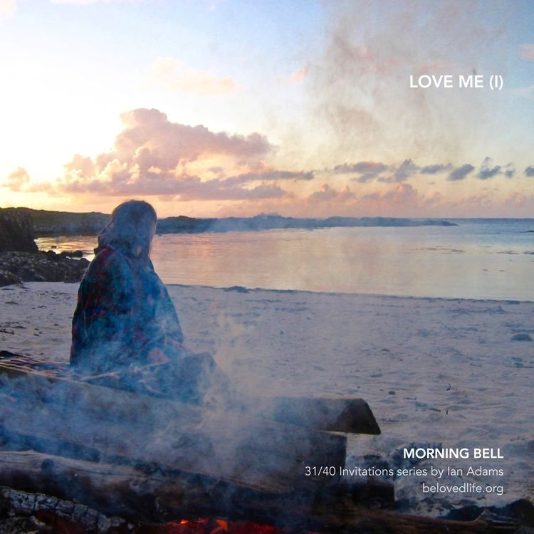 31/40 in #40Invitations series for the #Easter season Stillness Prayer Contemplation Life IsleofMull Beach Fire