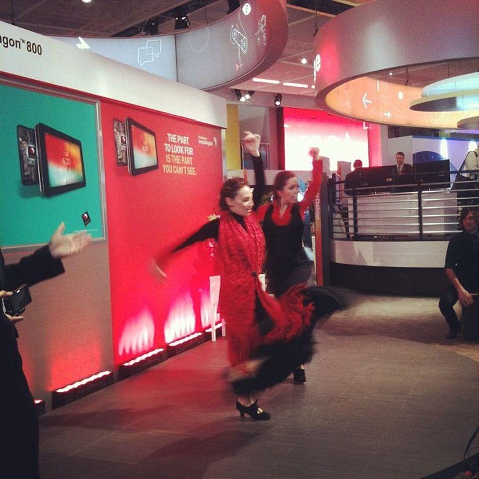 Que no falte el folklore Flamenco Mwc2013