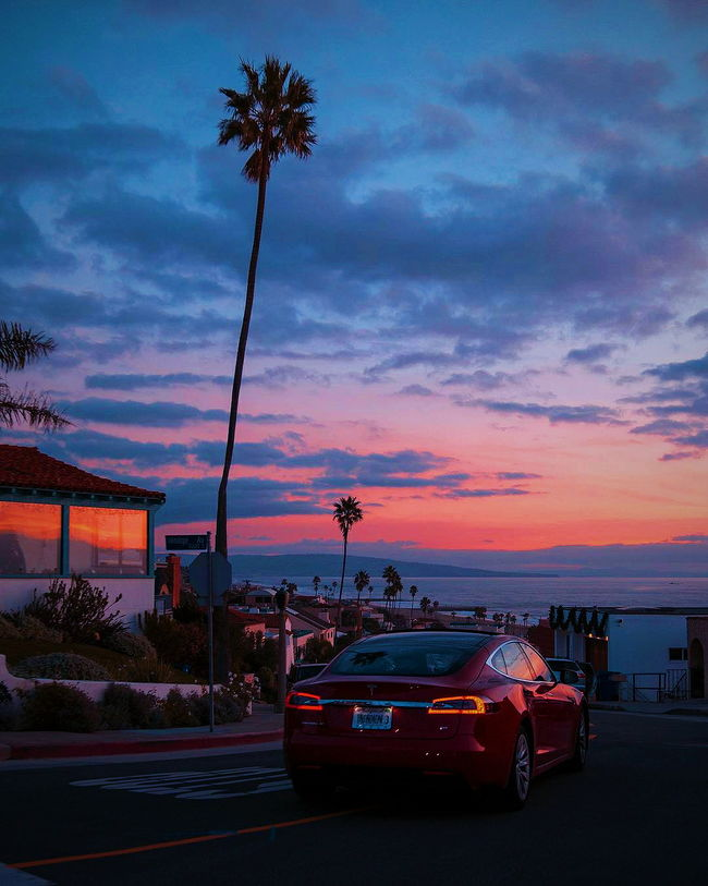 Great sunset on the beach 📸debodoes Sunset Cloud - Sky Car Night Nightlife Vacations Beachphotography Sky Water Summer Dusk Beach Outdoors Sea Travel Destinations Silhouette Landscape Blue Backgrounds Multi Colored Red