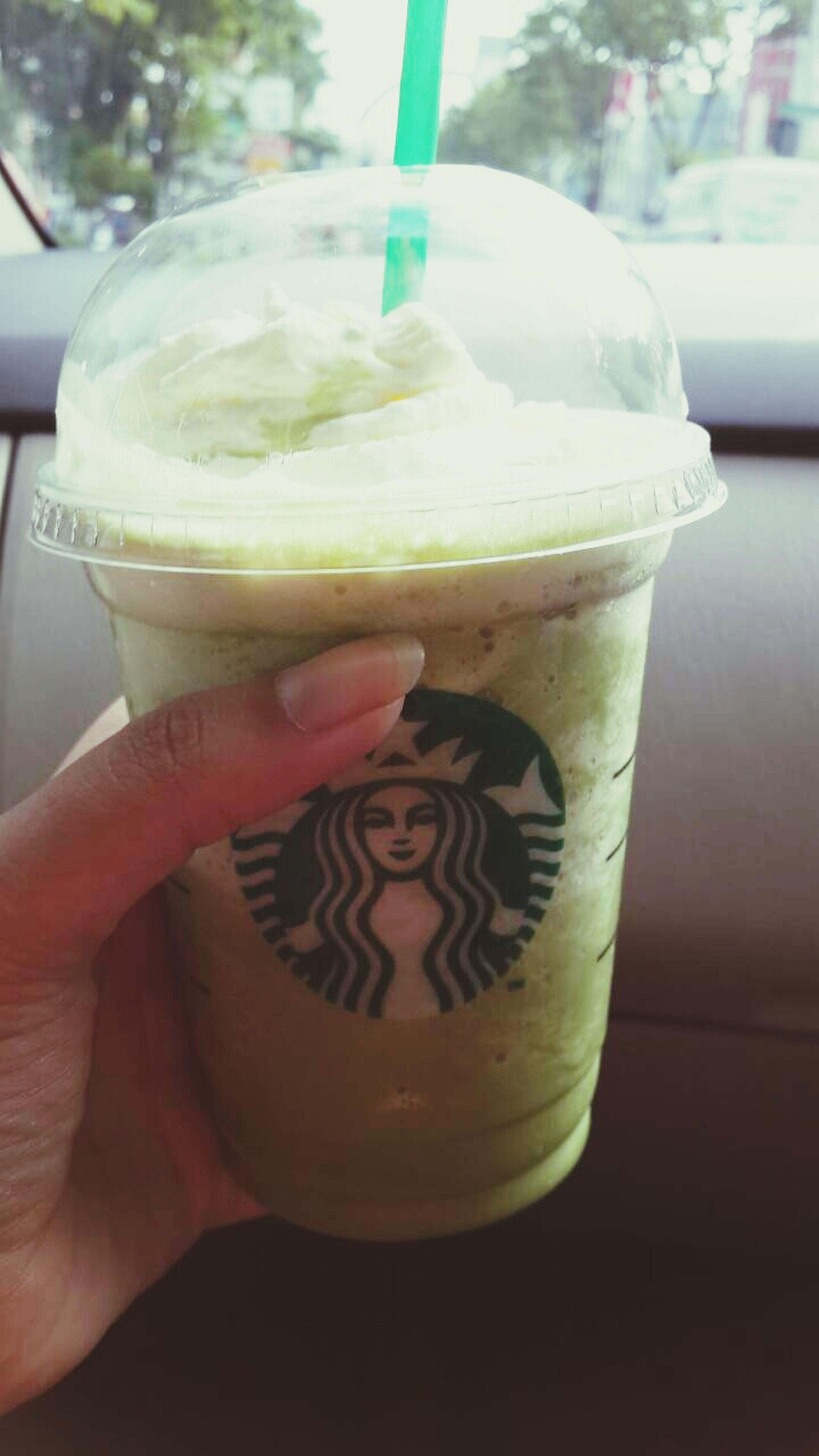 Reposted Starbucks Coffee Greentea GreenTeaFrapp
