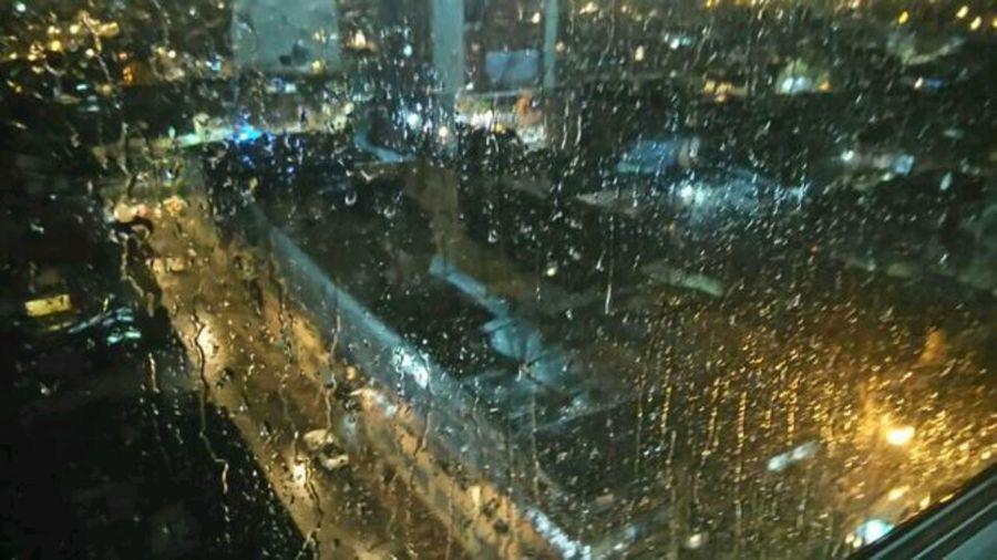 Bogota,colombia. Rainy Night Night Starts Calm Time Mobile Capture......