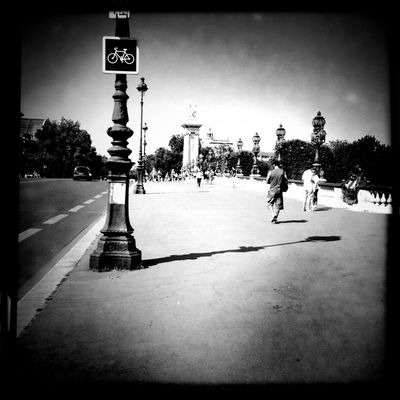 blackandwhite at RER Invalides [C] by Angel Kelly