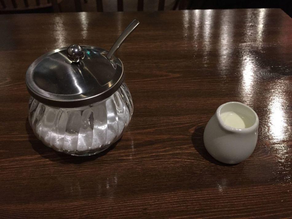 砂糖とミルク