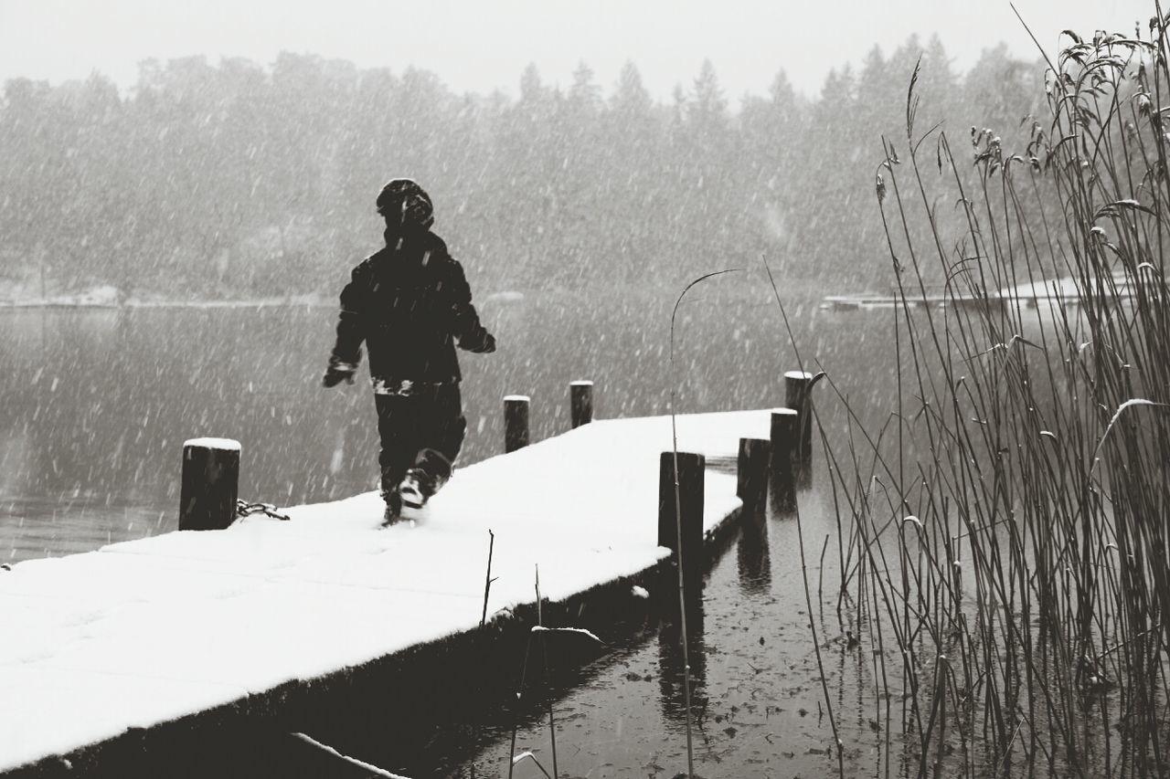 Exploring Winter The Explorer - 2014 EyeEm Awards Winter White By CanvasPop