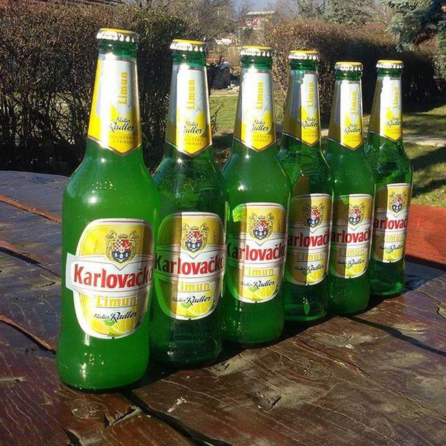 Piva Uzivanje Karlovacko Radler @josip.durinek.duro to je bila druga runda ;)